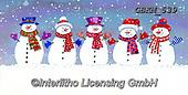 Kate, CHRISTMAS SANTA, SNOWMAN, WEIHNACHTSMÄNNER, SCHNEEMÄNNER, PAPÁ NOEL, MUÑECOS DE NIEVE, paintings+++++Snowmen.,GBKM539,#x#