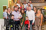 Patsy and Olivia Fleming from Currow celebrated christening of their daughter Saoirse surrounded by friends and family in the Dromhall Hotel, Killarney last Saturday evening.