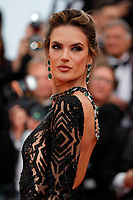 Alessandra Ambrosio attends the screening of 'Blackkklansman' during the 71st annual Cannes Film Festival at Palais des Festivals on May 14, 2018 in Cannes, France. <br /> CAP/GOL<br /> &copy;GOL/Capital Pictures