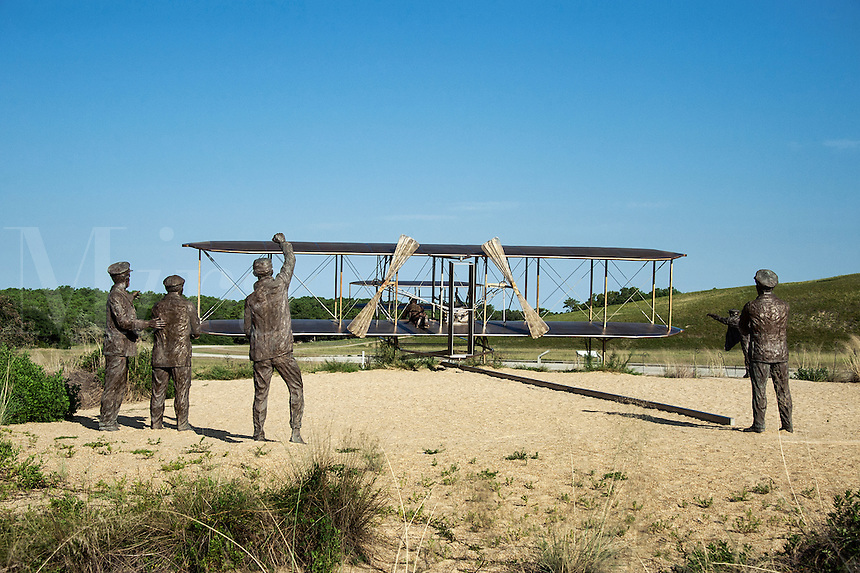 Wright Brothers National Memorial, Kitty Hawk, North Carolina, USA