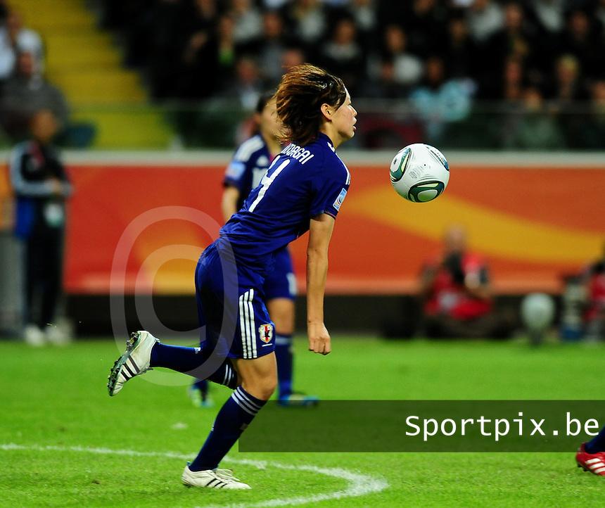 Fifa Women's World Cup Germany 2011 : Japan - USA  at Commerzbank Arena Frankfurt : Saki Kumagai.foto DAVID CATRY / Vrouwenteam.be