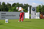 Richie Ramsay (SCO) tees off on the 8th tee during Day 2 of the BMW International Open at Golf Club Munchen Eichenried, Germany, 24th June 2011 (Photo Eoin Clarke/www.golffile.ie)