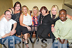 Enjoying themselves at Michael 'Fox' O'Connor's 60th birthday party held in The Brandon Hotel on Saturday night were l/r Andrew Robb, Noelle O'Connor, Mandy Wilson, Helen Coffey, Margaret O'Connor, Mandy O'Connor and Ben Mdumo..   Copyright Kerry's Eye 2008