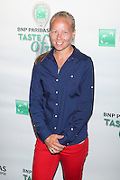 Tennis player Johanna Larsson attends the 13th Annual 'BNP Paribas Taste of Tennis' at the W New York.  New York City, August 23, 2012. © Diego Corredor/MediaPunch Inc. /NortePhoto.com<br />