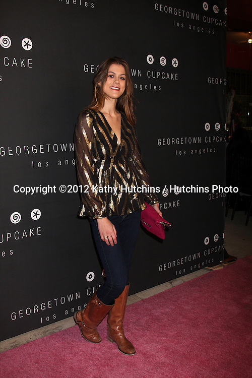 LOS ANGELES - NOV 15:  Lindsey Shaw arrives for the Georgetown Cupcakes Los Angeles Grand Opening at Georgetown Cupcake Los Angeles on November 15, 2012 in Los Angeles, CA