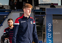 Bolton Wanderers' Matthew Alexander goes out to inspect the pitch before the match<br /> <br /> Photographer Andrew Kearns/CameraSport<br /> <br /> The Carabao Cup First Round - Rochdale v Bolton Wanderers - Tuesday 13th August 2019 - Spotland Stadium - Rochdale<br />  <br /> World Copyright © 2019 CameraSport. All rights reserved. 43 Linden Ave. Countesthorpe. Leicester. England. LE8 5PG - Tel: +44 (0) 116 277 4147 - admin@camerasport.com - www.camerasport.com