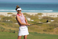 Anne Van Dam (NED) during the final round of the Fatima Bint Mubarak Ladies Open played at Saadiyat Beach Golf Club, Abu Dhabi, UAE. 12/01/2019<br /> Picture: Golffile | Phil Inglis<br /> <br /> All photo usage must carry mandatory copyright credit (&copy; Golffile | Phil Inglis)