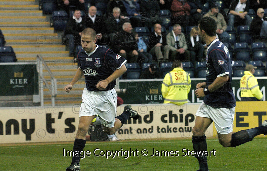 03/11/2007       Copyright Pic: James Stewart.File Name : sct_jspa09_falkirk_v_gretna.GRAHAM BARRETT CELEBRATES AFTER HE SCORES FALKIRK'S SECOND.James Stewart Photo Agency 19 Carronlea Drive, Falkirk. FK2 8DN      Vat Reg No. 607 6932 25.Office     : +44 (0)1324 570906     .Mobile   : +44 (0)7721 416997.Fax         : +44 (0)1324 570906.E-mail  :  jim@jspa.co.uk.If you require further information then contact Jim Stewart on any of the numbers above........
