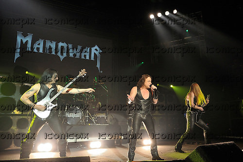 Manowar performing live in on the Death To Infidels Tour of Germany - January 2010.  Photo credit: IconicPix
