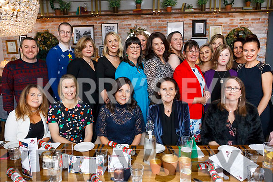 ETB Centerpoint staff enjoying their Christmas party in the Ashe Hotel on Friday night last.