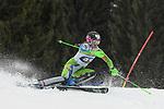 10.03.2018, Ofterschwanger Horn, Ofterschwang, GER, Slalom Weltcup in Ofterschwang, im Bild Klara Livk (SLO, #45)<br /> <br /> Foto &copy; nordphoto / Hafner