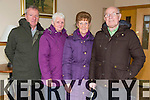 Brendan Moriarty, Margaret Moriarty, Mary Locke, Michael Locke from Spa Road and Cahills Park enjoying Sunday lunch out at Kerins O'Rahillys Clubhouse