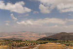 Samaria, a view from Mount Ebal towards Mount Kabir and Tirtza valley