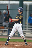 Sage Pera (12) of Mission College Prep High School in Templeton, California during the Under Armour All-American Pre-Season Tournament presented by Baseball Factory on January 14, 2017 at Sloan Park in Mesa, Arizona.  (Kevin C. Cox/MJP/Four Seam Images)