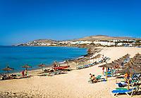 Spanien, Kanarische Inseln, Fuerteventura, Playa Costa Calma   Spain, Canary Island, Fuerteventura, Playa Costa Calma