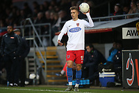 Toby Stevenson of Dagenham during Dagenham & Redbridge vs Maidenhead United, Vanarama National League Football at the Chigwell Construction Stadium on 7th December 2019