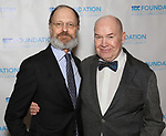 """David Hyde Pierce and Jack O'Brien during The """"Mr. Abbott"""" Award 2019 at The Metropolitan Club on 3/25/2019 in New York City."""
