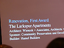 CPDC recieves an award for the development of The Larkspur residence at the Montgomery County Affordable Housing Conference.