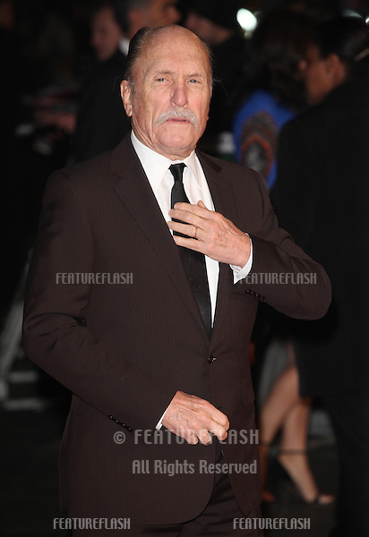Robert Duvall arriving at the World Premiere of Jack Reacher, at Odeon Leicester Square, London. 10/12/2012 Picture by: Alexandra Glen / Featureflash