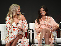 "BEVERLY HILLS - AUGUST 1: Natalie Alyn Lind, Danielle Campbell, onstage during the ""Tell Me A Story"" panel at the CBS All Access portion of the Summer 2019 TCA Press Tour at the Beverly Hilton on August 1, 2019 in Los Angeles, California. (Photo by Frank Micelotta/PictureGroup)"