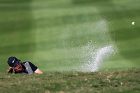 Tommy Fleetwood (ENG) on the 2nd during the final round at the WGC HSBC Champions 2018, Sheshan Golf CLub, Shanghai, China. 28/10/2018.<br /> Picture Fran Caffrey / Golffile.ie<br /> <br /> All photo usage must carry mandatory copyright credit (&copy; Golffile | Fran Caffrey)