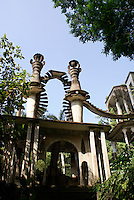 Stairway to the Sky at Las Pozas, the surrealistic sculpture garden created by Edward James near Xilitla, Mexico