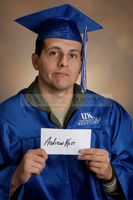 Kerr, Andrew photographed during the Feb/Mar, 2013, Grad Salute in Lexington, Ky.