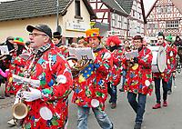 Blasorchester Heusenstamm - Büttelborn 11.02.2018: Rosensonntagsumzug der BCA
