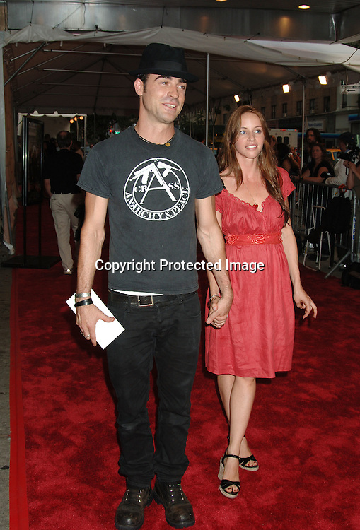 "Justin Theroux and Heidi..at The New York Premiere of ""Trust The Man"" directed..by Bart Freundlich and starring Julianne Moore, David ..Duchovny, Billy Crudup, Eva Mendes and Maggie Gyllenhaal on August 7, 2006 at The Chelsea West Cinemas...Robin Platzer, Twin Images"