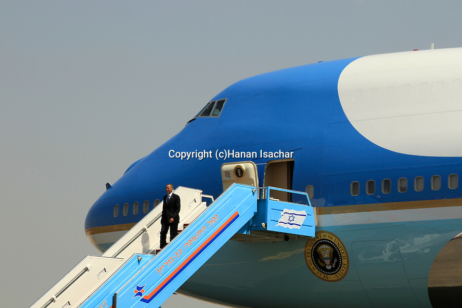The welcoming ceremony for US President Barack Obama