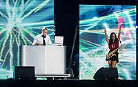 DJ Show<br /> day 01  08-08-2017<br /> Energy For Swim<br /> Rome  08 -09  August 2017<br /> Stadio del Nuoto - Foro Italico<br /> Photo Deepbluemedia/Insidefoto