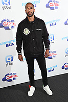 Marvin Humes<br /> poses on the media line before performing at the Summertime Ball 2019 at Wembley Arena, London<br /> <br /> ©Ash Knotek  D3506  08/06/2019