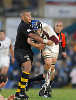 Wycombe. GREAT BRITAIN, Tigers No. 8 Jordan CRANE, during the, Guinness Premiership game between, London Wasps and Leicester Tigers on 25/11/2006, played at the Adam Park, ENGLAND. Photo, Peter Spurrier/Intersport-images]