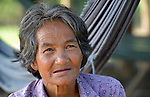 A woman in the village of Thmar Dat in northern Cambodia. Following devastating 2011 floods in the village, Church World Service and Dan Church Aid, both members of the ACT Alliance, helped villagers to recover their homes and livelihoods.