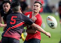 Westlake Boys v Papatoetoe High School. Secondary Schools Rugby League Nationals, Bruce Pulman Park, Papakura, Auckland, New Zealand. Monday 4 September. Photo: Simon Watts/www.bwmedia.co.nz