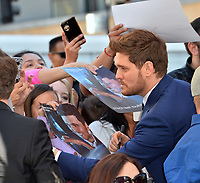 LOS ANGELES, CA. November 16, 2018: Michael Buble at the Hollywood Walk of Fame Star Ceremony honoring singer Michael Bublé.<br /> Pictures: Paul Smith/Featureflash