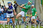 Mikey Boyle Ballyduff v Eamon Corridan Saint Brendans on the Semi finals of the County Senior Hurling County Championship at Austin Stack Park, Tralee, on Sunday.