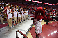 NWA Democrat-Gazette/MICHAEL WOODS &bull; @NWAMICHAELW<br /> University of Arkansas Razorbacks ve the Central Missouri Mules Friday, October 28, 2016  at Bud Walton Arena in Fayetteville.