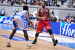 San Pablo Burgos Corey Fisher and Gipuzkoa Basket Kenny Chery during Liga Endesa match between San Pablo Burgos and Gipuzkoa Basket at Coliseum Burgos in Burgos, Spain. December 30, 2017. (ALTERPHOTOS/Borja B.Hojas)