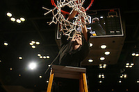 25 February 2007: Amy Tucker during Stanford's 56-53 win over USC at Maples Pavilion in Stanford, CA.