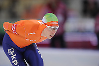 SPEEDSKATING: SOCHI: Adler Arena, 23-03-2013, Essent ISU World Championship Single Distances, Day 3, 10.000m Men, Jorrit Bergsma (NED), © Martin de Jong