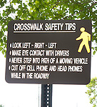 Crosswalk instructions at Auburn University
