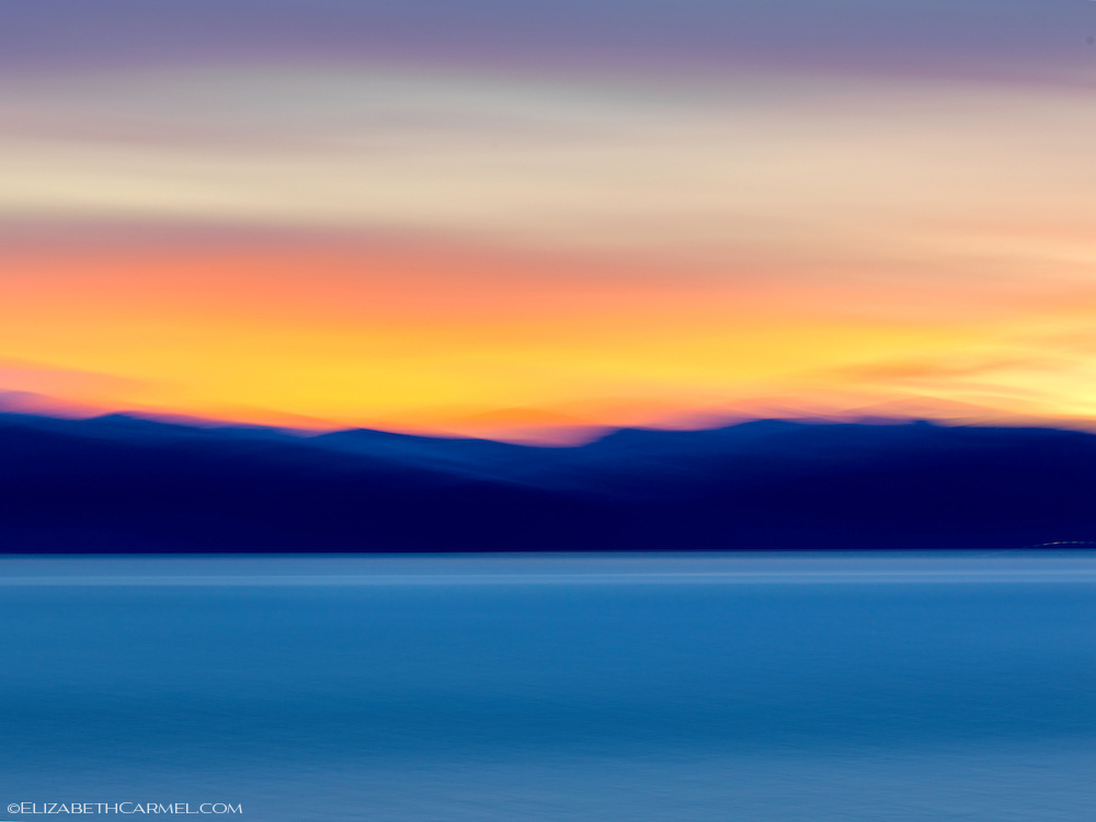 Lake Tahoe Sunset  I