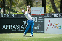 Oliver Wilson (ENG) during the 1st round of the AfrAsia Bank Mauritius Open, Four Seasons Golf Club Mauritius at Anahita, Beau Champ, Mauritius. 29/11/2018<br /> Picture: Golffile | Mark Sampson<br /> <br /> <br /> All photo usage must carry mandatory copyright credit (&copy; Golffile | Mark Sampson)
