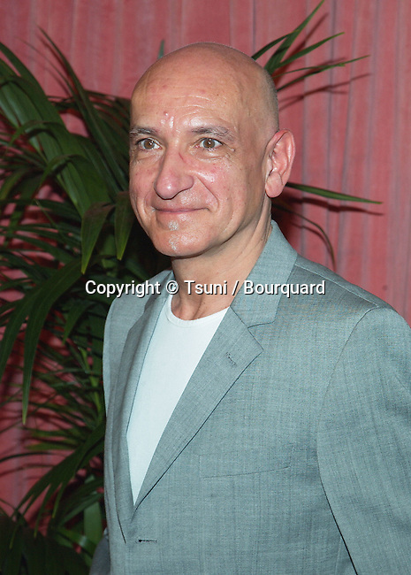 """Nominee for Best Supporting Actor for """"Sexy Beast"""", Ben Kingsley arrives at the nominees luncheon for the 74th Annual Academy Awards at the Beverly Hilton Hotel in Beverly Hills, Ca., March 11, 2002.            -            KingsleyBen02B.jpg"""