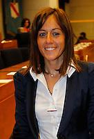 NAPOLI CONSIGLIO REGIONALE DELLA CAMPANIA. NELLA FOTO MAFALDA AMENTA.FOTO CIRO DE LUCA