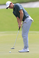 Rory McIlroy (NIR) putts on the 1st green during Saturday's Round 3 of the 2017 PGA Championship held at Quail Hollow Golf Club, Charlotte, North Carolina, USA. 12th August 2017.<br /> Picture: Eoin Clarke | Golffile<br /> <br /> <br /> All photos usage must carry mandatory copyright credit (&copy; Golffile | Eoin Clarke)