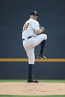 Trenton Thunder pitcher Matt Tracy (59) during game against the Akron RubberDucks at ARM & HAMMER Park on July 14, 2014 in Trenton, NJ.  Akron defeated Trenton 5-2.  (Tomasso DeRosa/Four Seam Images)