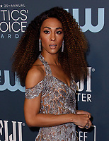 SANTA MONICA, CA - JANUARY 13: Mj Rodriguez attends the 24th annual Critics' Choice Awards at Barker Hangar on January 12, 2020 in Santa Monica, California. <br /> CAP/MPI/IS/CSH<br /> ©CSHIS/MPI/Capital Pictures