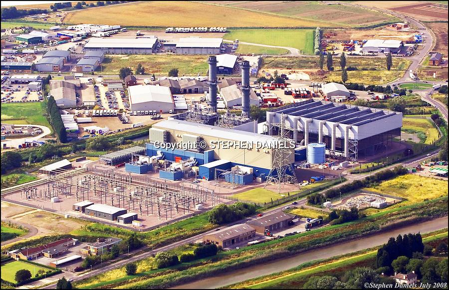 PHOTO &copy;  Stephen Daniels  25/07/2008<br /> Spalding Power Station, Spalding, Lincs.